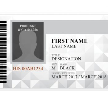 ID Card Template 40