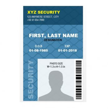 ID Card Template 41