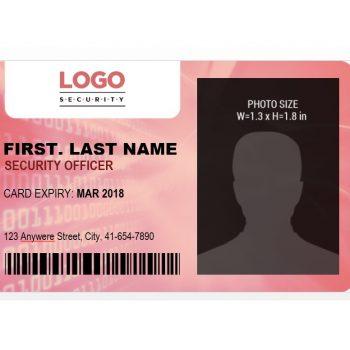 ID Card Template 42