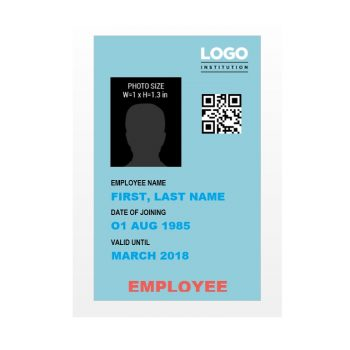 ID Card Template 44
