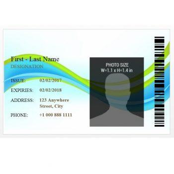 ID Card Template 49