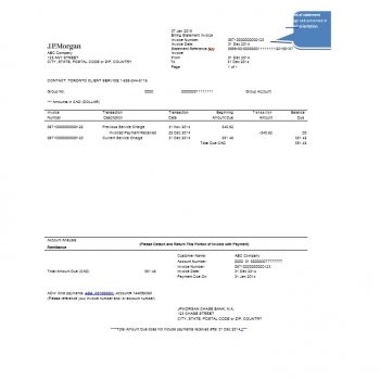 Billing Statement Template 24