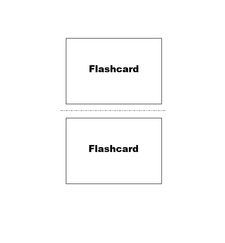 Index Card Template 05