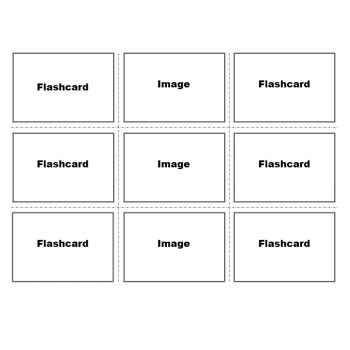 Index Card Template 09