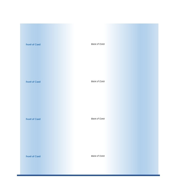 Index Card Template 19