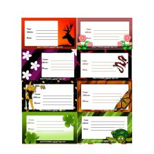 Luggage Tag Template 37