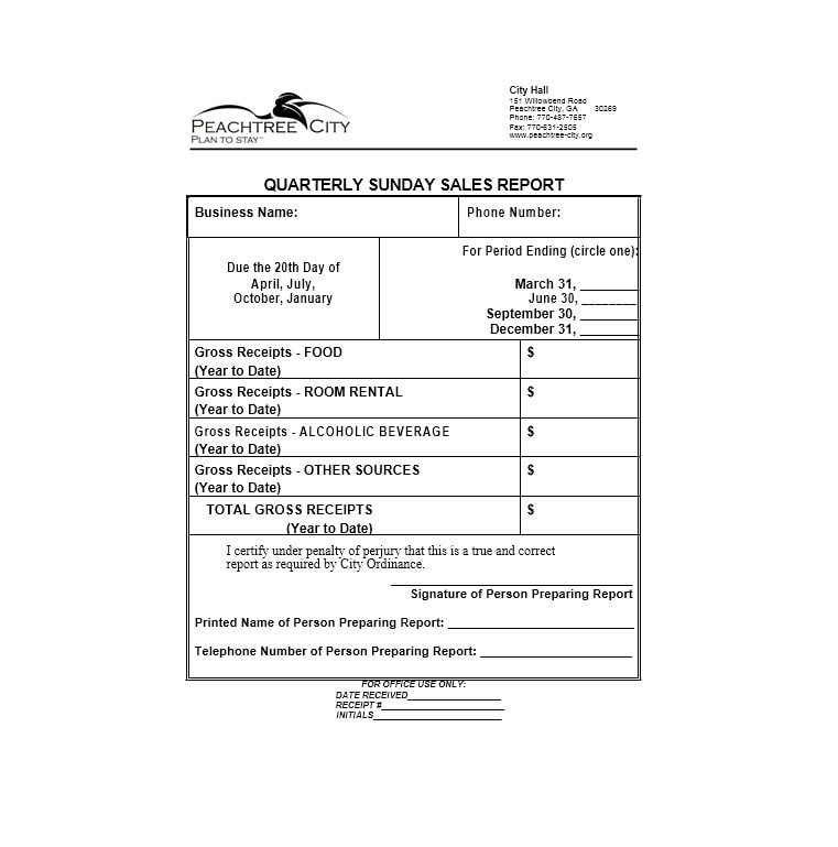Sales Report Template 41