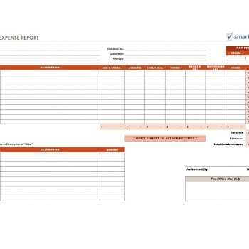 Travel Expense Report Template 35