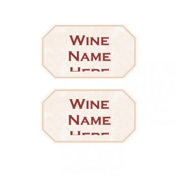 Wine Label Template 11