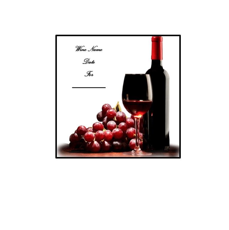 Wine Label Template 21