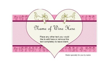 Wine Label Template 35