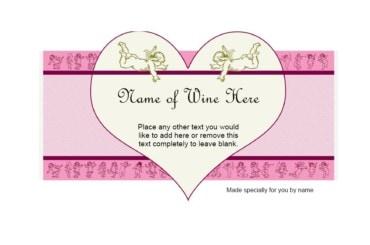 Wine Label Template 35