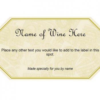 Wine Label Template 36