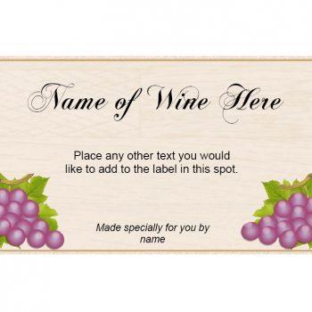 Wine Label Template 38