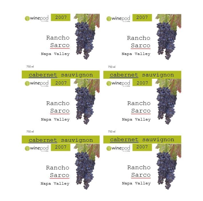 Wine Label Template 40