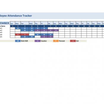 attendance tracker 06