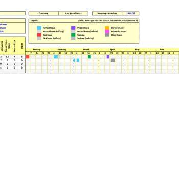 attendance tracker 07