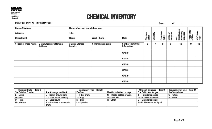 45 Printable Inventory List Templates [Home, Office, Moving   ]