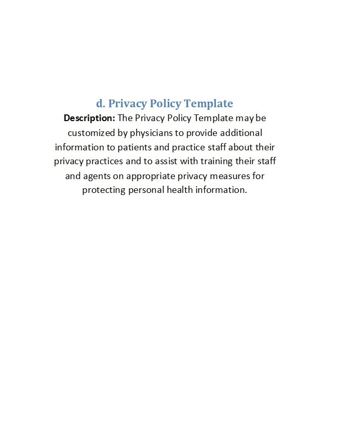 privacy policy template 13