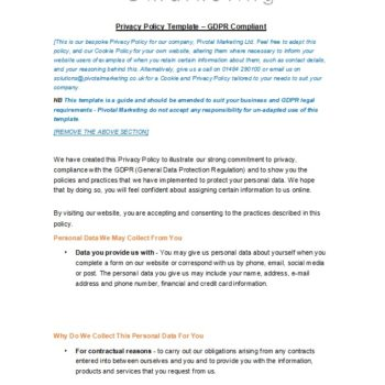 privacy policy template 14