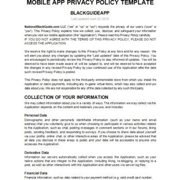 privacy policy template 27