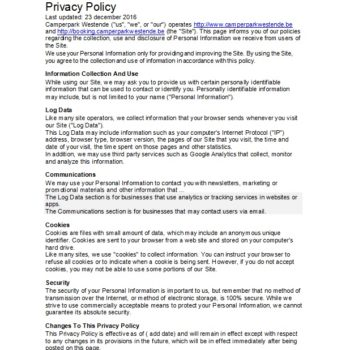 privacy policy template 30