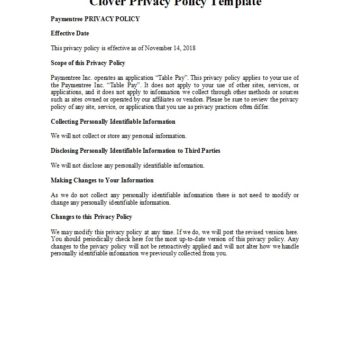 privacy policy template 37