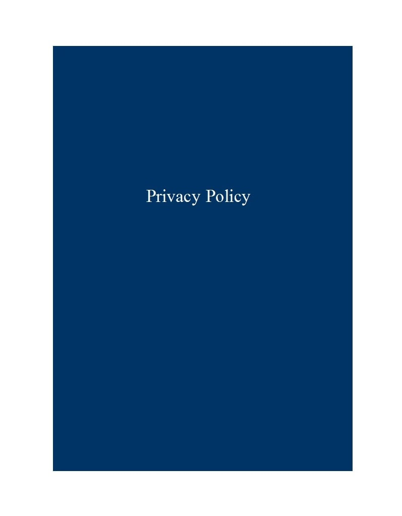 privacy policy template 43