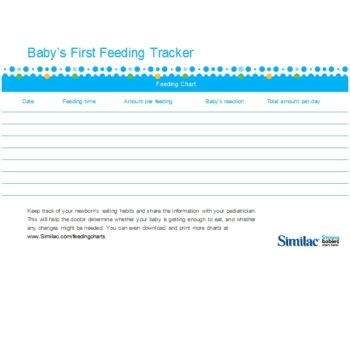 baby feeding chart 28
