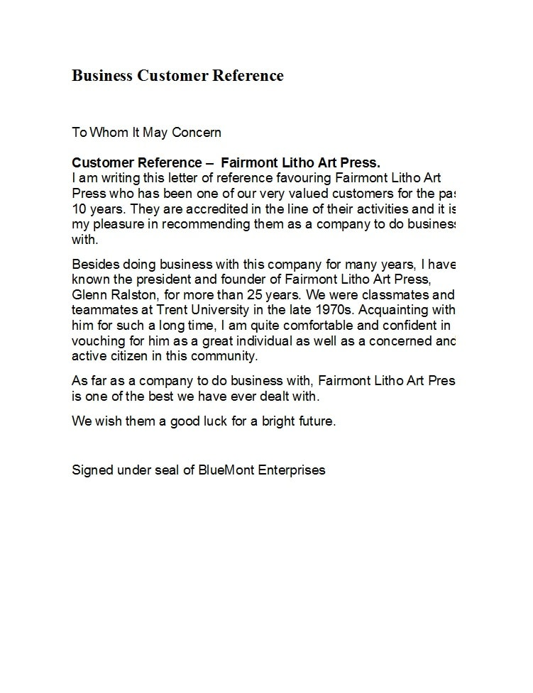 Business Reference Letter Template Word from templatearchive.com