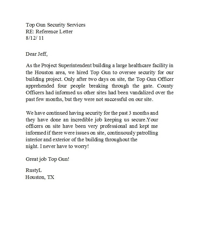 business reference letter 22