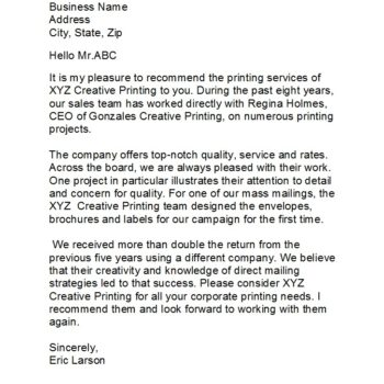 business reference letter 24