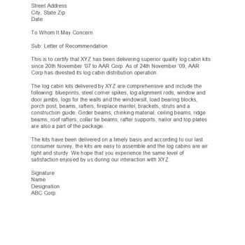 business reference letter 33