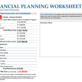 money management worksheet 02