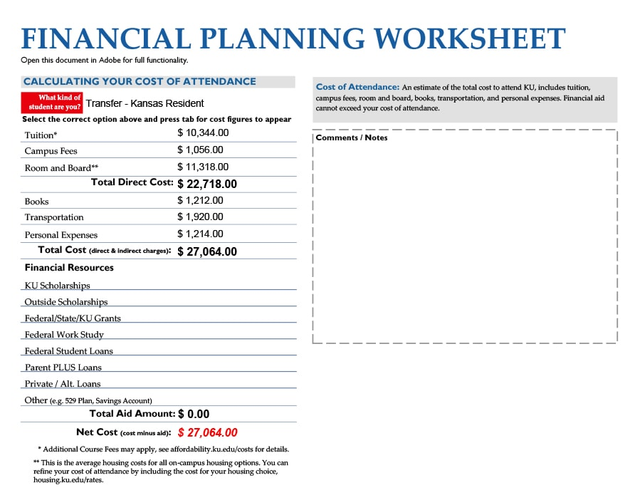 50 Money Management Worksheets [Excel, Word, PDF ...