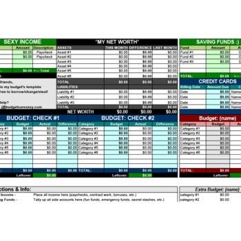 money management worksheet 17