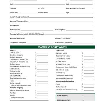 money management worksheet 19