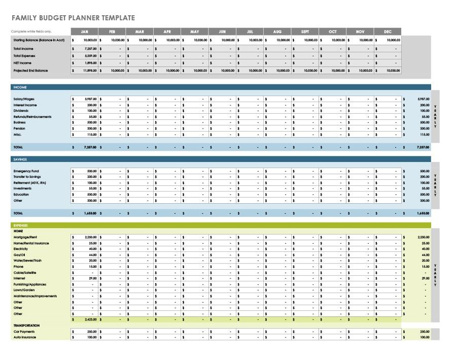 money management worksheet 29