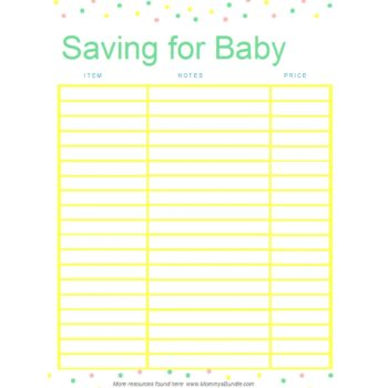 savings tracker 08