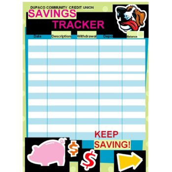 savings tracker 13