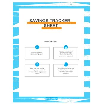 savings tracker 14
