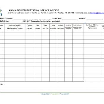 service invoice template 18