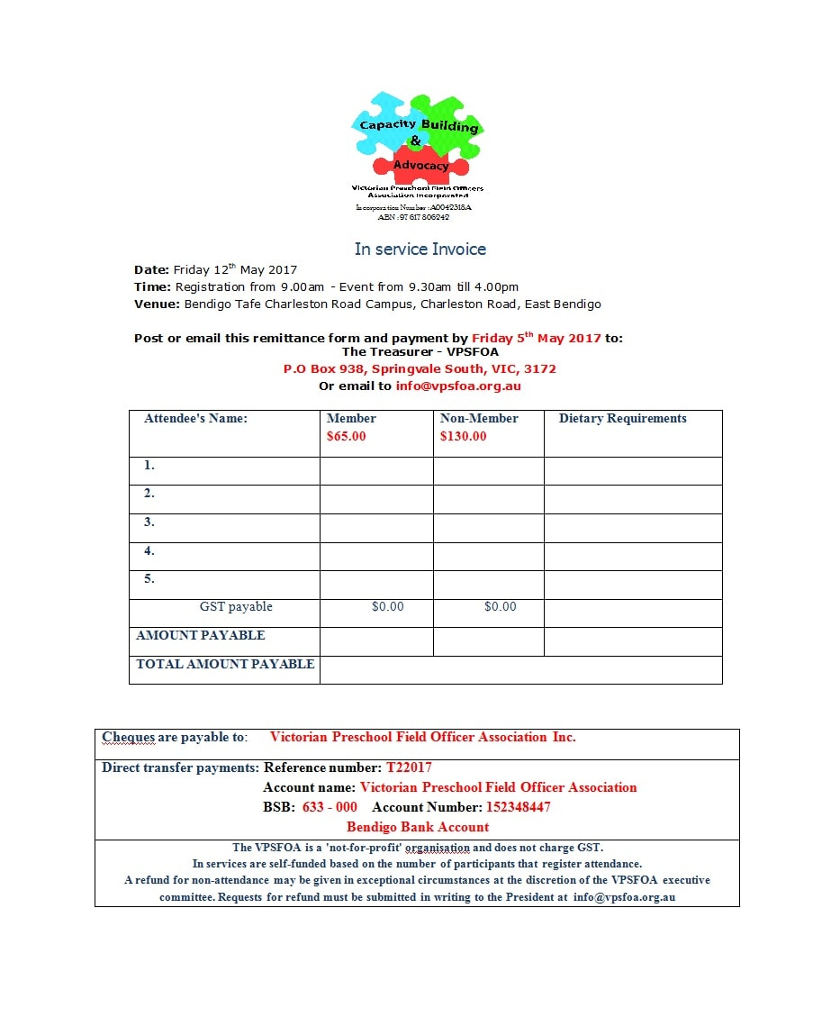 service invoice template 28