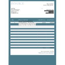 service invoice template 50