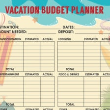 travel budget template 12