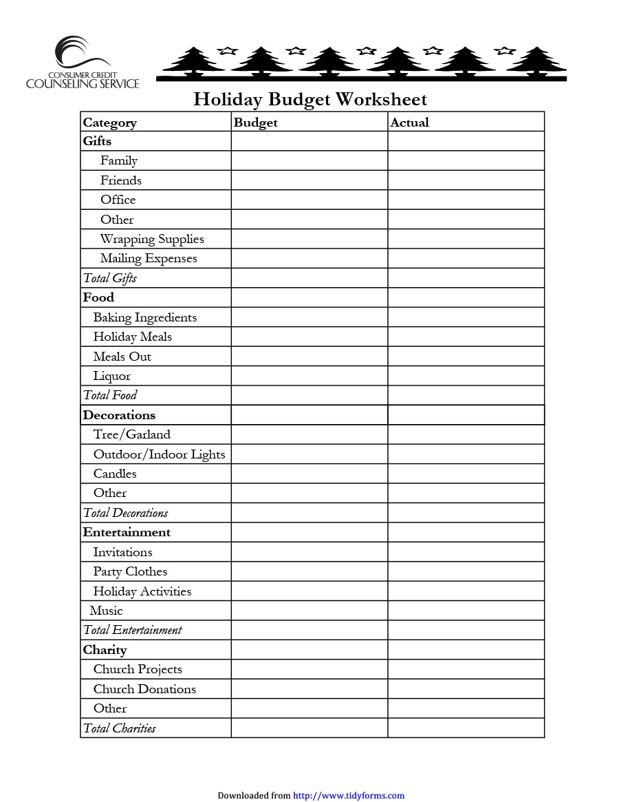 36 Travel Budget Templates Vacation Budget Planners Templatearchive
