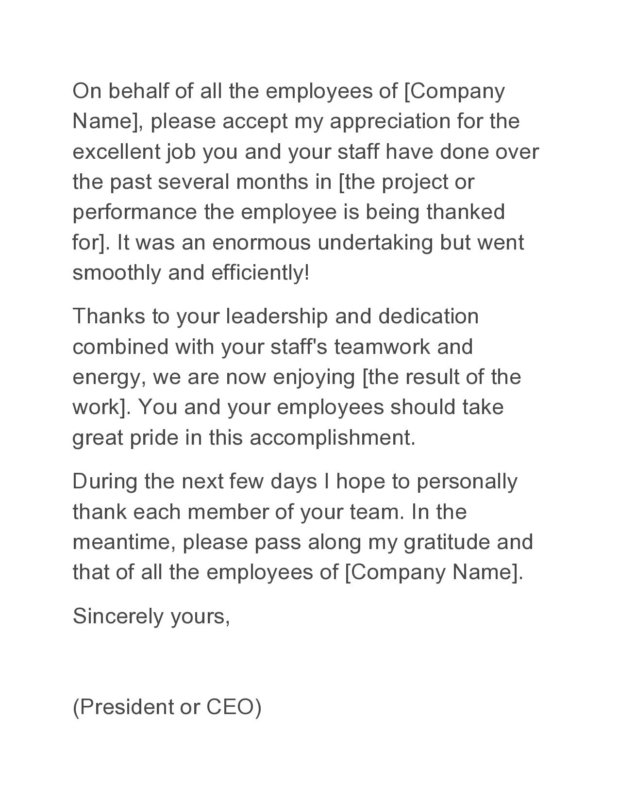 appreciation letter 11