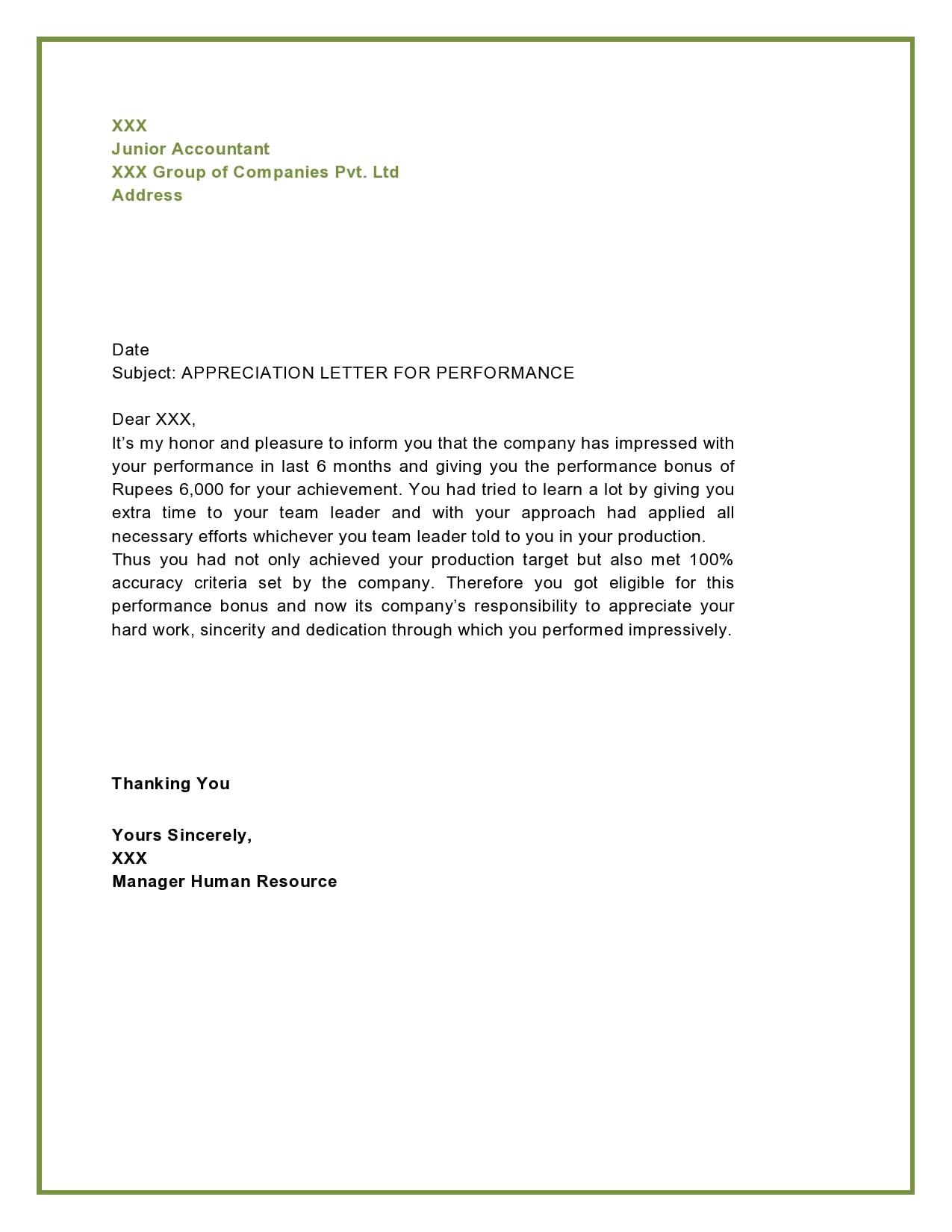appreciation letter 13