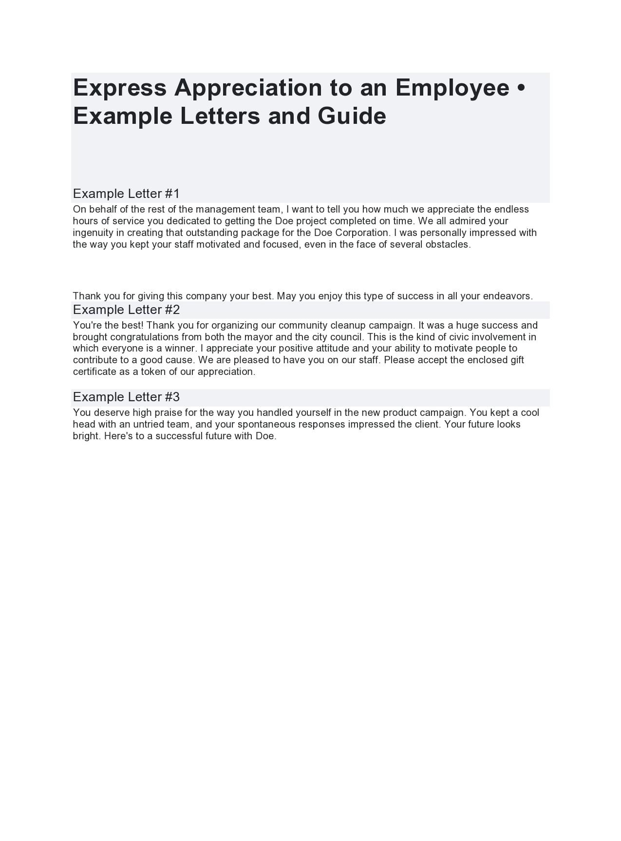 appreciation letter 20