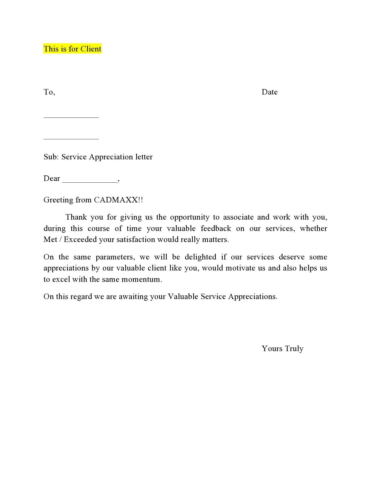 appreciation letter 24